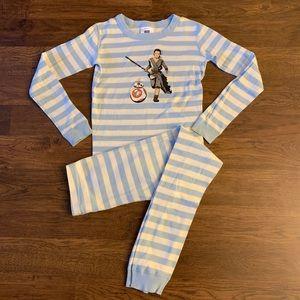 Hanna Andersson Star Wars Rey and BB-8 Pajamas